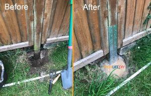 Read more about the article How to fix a leaning fence without replacing the fence post