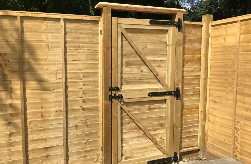 How to build a garden gate from scratch DIY