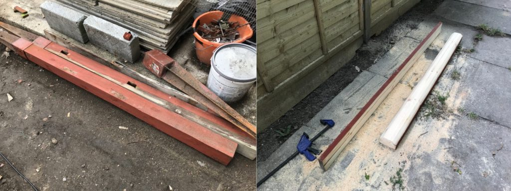 Techlifediy how we made the gate topper out of scrap wood