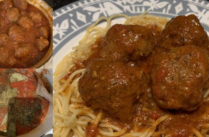 How To Make Delicious Homemade Meatballs in 6 Easy Steps
