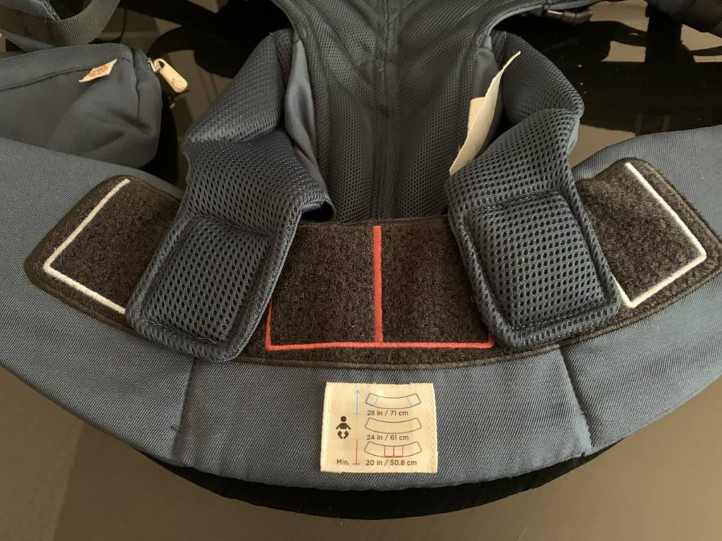 Our-ergobaby-baby-carrier-adjustable-hip-size-by-baby's-age