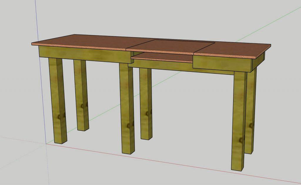 Finished-workbench-design-sketchup