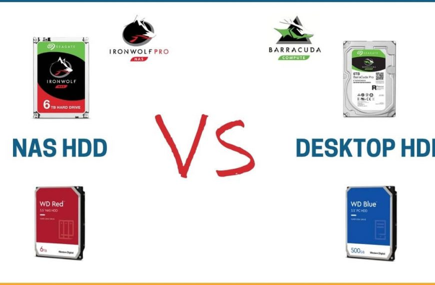 How and Why are NAS Hard Drives Different from Desktop Hard Drives