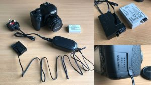 Read more about the article Canon DSLR Camera Mains DC Power Supply Adapter Test and Review