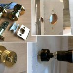 How to Fit A Door Knob Handle and Drill Latch Holes – Complete Beginner's Guide