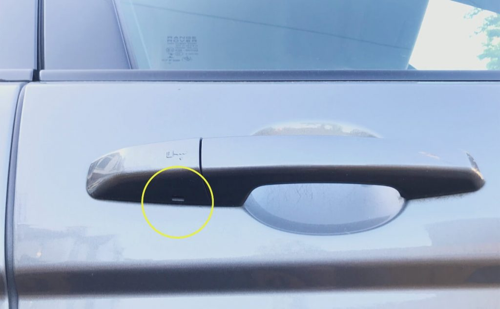 how-to-unlock-range-rover-evoque-without-smart-key-fob