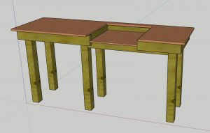Read more about the article DIY Mitre and Table Saw Workbench Design with Sketchup